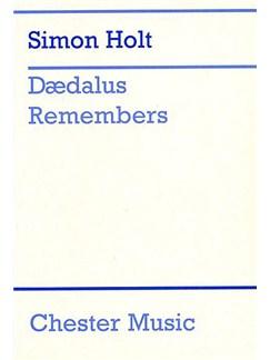 Simon Holt: Daedalus Remembers Books | Voice