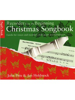 Recorder From The Beginning: Christmas Songbook Pupil's Book Books | Voice (with Chord Symbols), Descant Recorder