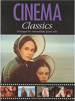 Cinema Classics Arranged For Intermediate Piano Solo Books | Piano