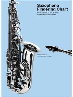 Saxophone Fingering Chart  | Soprano Saxophone, Alto Saxophone, Tenor Saxophone, Baritone Saxophone