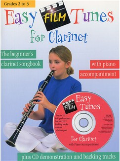 Easy Film Tunes For Clarinet Books and CDs | Clarinet