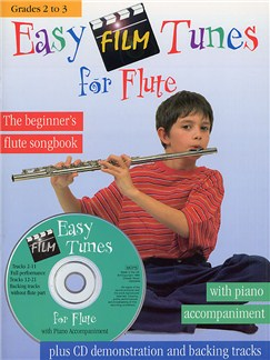Easy Film Tunes For Flute Books and CDs | Flute, Piano Accompaniment