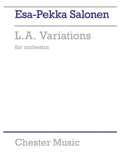 Esa-Pekka Salonen: L.A. Variations Books | Orchestra