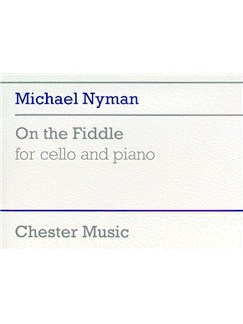 Michael Nyman: On The Fiddle For Cello And Piano Libro | Cello, Acompañamiento de Piano