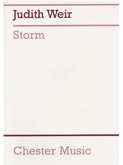 Judith Weir: Storm (Full Score) Books | Trebles, Soprano, Alto, 3 Flute, 3 Cello, 3 Percussion