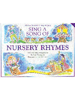 Sing A Song Of Nursery Rhymes Books | Piano and Voice, with Guitar chord symbols