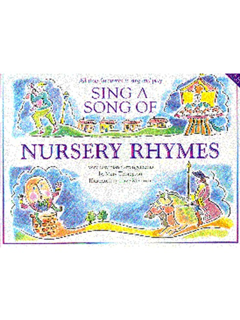 Sing A Song Of Nursery Rhymes Piano Vocal Guitar Sheet Music