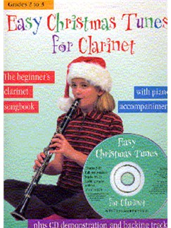 Easy Christmas Tunes For Clarinet Books and CDs | Clarinet, Piano