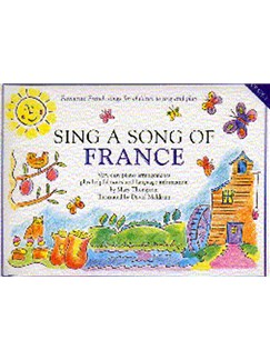Sing A Song Of France Books | Piano and Voice, with Guitar chord symbols