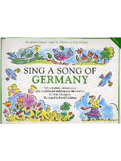 Sing A Song Of Germany Books | Piano and Voice, with Guitar chord symbols