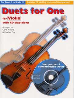 Duets For One: Violin Books and CDs | Violin
