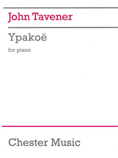 John Tavener: Ypakoe Books | Piano