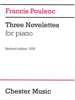 Francis Poulenc: Three Novelettes Livre | Piano