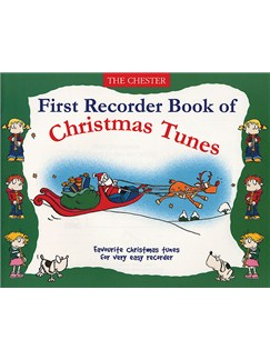 First Recorder Book Of Christmas Tunes Books | Recorder