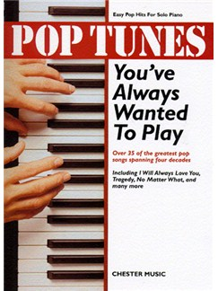 Pop Tunes You've Always Wanted To Play Books | Piano