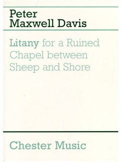 Peter Maxwell Davies: Litany For A Ruined Chapel Between Sheep And Shore Books | Trumpet