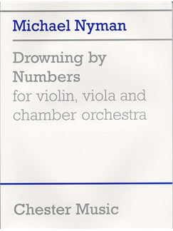 Nyman: Drowning By Numbers (Study Score) Books | Violin, Viola, Chamber Orchestra