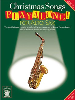 Applause: Christmas Songs Playalong For Alto Sax Books and CDs | Alto Sax