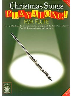 Applause: Christmas Songs Playalong For Flute Books and CDs | Flute