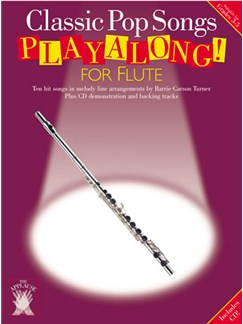 Applause: Classic Pop Songs Playalong For Flute Books and CDs | Flute