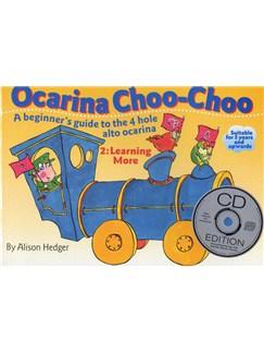 Ocarina Choo-Choo Book 2: Learning More (With CD) Books and CDs | Ocarina