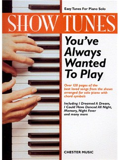 Show Tunes You've Always Wanted To Play Books | Piano, Chord Symbols