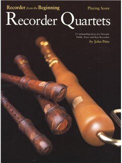 Recorder From The Beginning: Recorder Quartets (Playing Score) Books | Recorder Ensemble