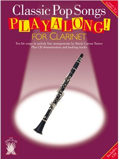 Applause: Classic Pop Songs Playalong For Clarinet Books and CDs | Clarinet