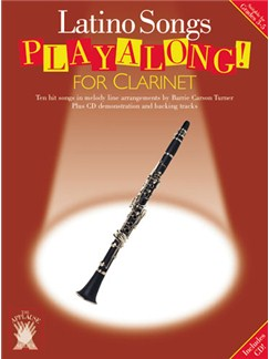 Applause: Latino Songs Playalong For Clarinet Books and CDs | Clarinet