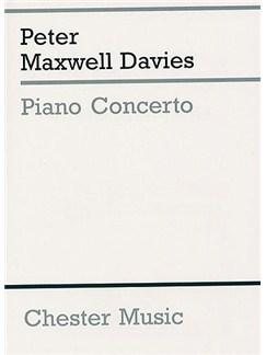 Peter Maxwell Davies: Piano Concerto (Miniature Score) Books | Piano, Orchestra