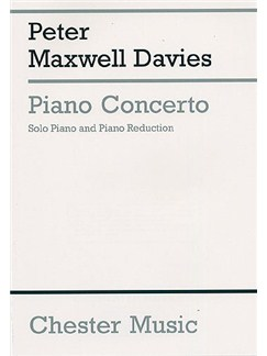 Peter Maxwell Davies: Piano Concerto (2 Piano Score) Books | Two Pianos