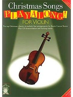 Applause: Christmas Songs Playalong For Violin Books and CDs   Violin