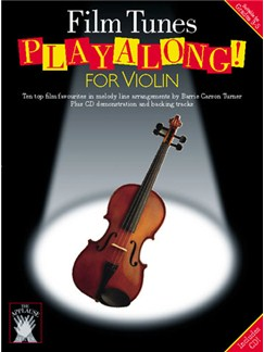 Applause: Film Tunes Playalong For Violin Books and CDs | Violin