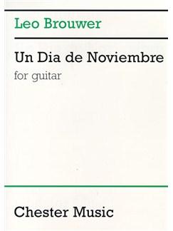 Leo Brouwer: Un Dia De Noviembre Books | Guitar