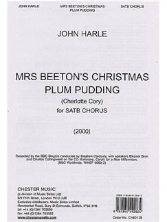 John Harle: Mrs Beeton's Christmas Plum Pudding Books | Soprano, Alto, Tenor, Bass (with 2 Speakers)