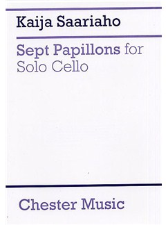 Kaija Saariaho: Sept Papillons For Solo Cello Books | Cello