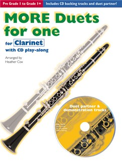 More Duets For One: Clarinet Books and CDs | Clarinet Duet