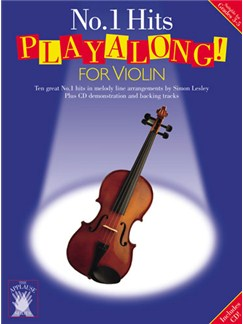 Applause: No.1 Hits Playalong For Violin Books and CDs | Violin