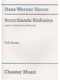 Hans Werner Henze: Scorribanda Sinfonica Books | Orchestra