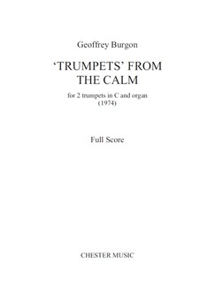 Burgon: Trumpets From 'The Calm' for 2 Trumpets And Organ Buch | Trompete (Duett), Orgelbegleitung