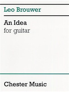 Brouwer: An Idea For Guitar Livre | Guitare