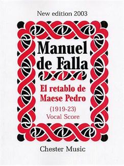 Manuel De Falla: El Retablo De Maese Pedro (Vocal Score) Books | Treble, Tenor, Baritone, Piano Accompaniment