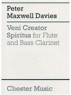 Peter Maxwell Davies: Veni Creator Spiritus (Score) Books | Flute, Bass Clarinet
