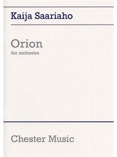 Kaija Saariaho: Orion (Full Score) Books | Orchestra