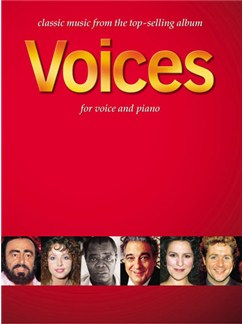 Voices For Voice And Piano Livre | Voix, Accompagnement Piano
