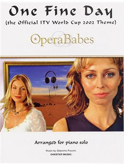 Opera Babes: One Fine Day Livre | Piano et Guitare (Symboles d'Accords)