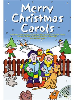 Merry Christmas Carols Books and CDs | Melody line with lyrics and chord symbols