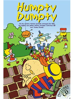 Humpty Dumpty Books and CDs | Melody line with lyrics and chord symbols