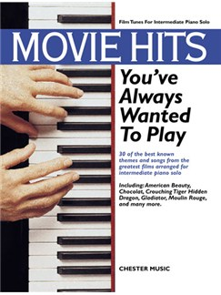 Movie Hits You've Always Wanted To Play Books | Piano