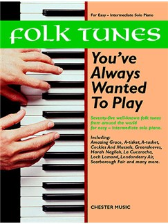 Folk Tunes You've Always Wanted To Play Books | Piano